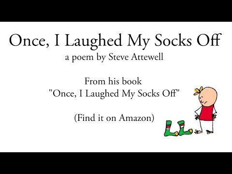 I Laughed My Socks Off Once Poems for kids
