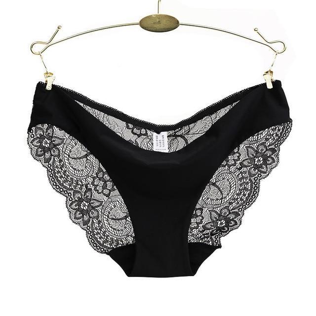 88c209e080b7 Ladies underwear woman panties fancy lace calcinha renda sexy panties for  women traceless crotch of cotton briefs hot sale
