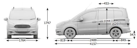 Zaawansowane Ford courier wymiary paki #7   Projekty do wypróbowania w 2019 XZ43