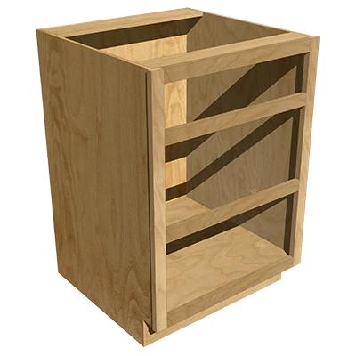 3 Drawer Base - Hickory | Base cabinets, Cabinet boxes ...