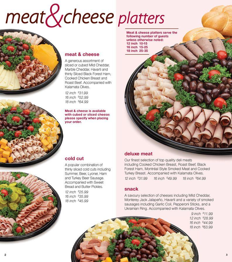 Order Food: Costco Order Food Platters | Natalie 2 in 2019