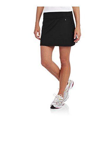 Danskin Now Womens Plus-Size Performance Drawstring Skort w//Ruched Siding Activewear
