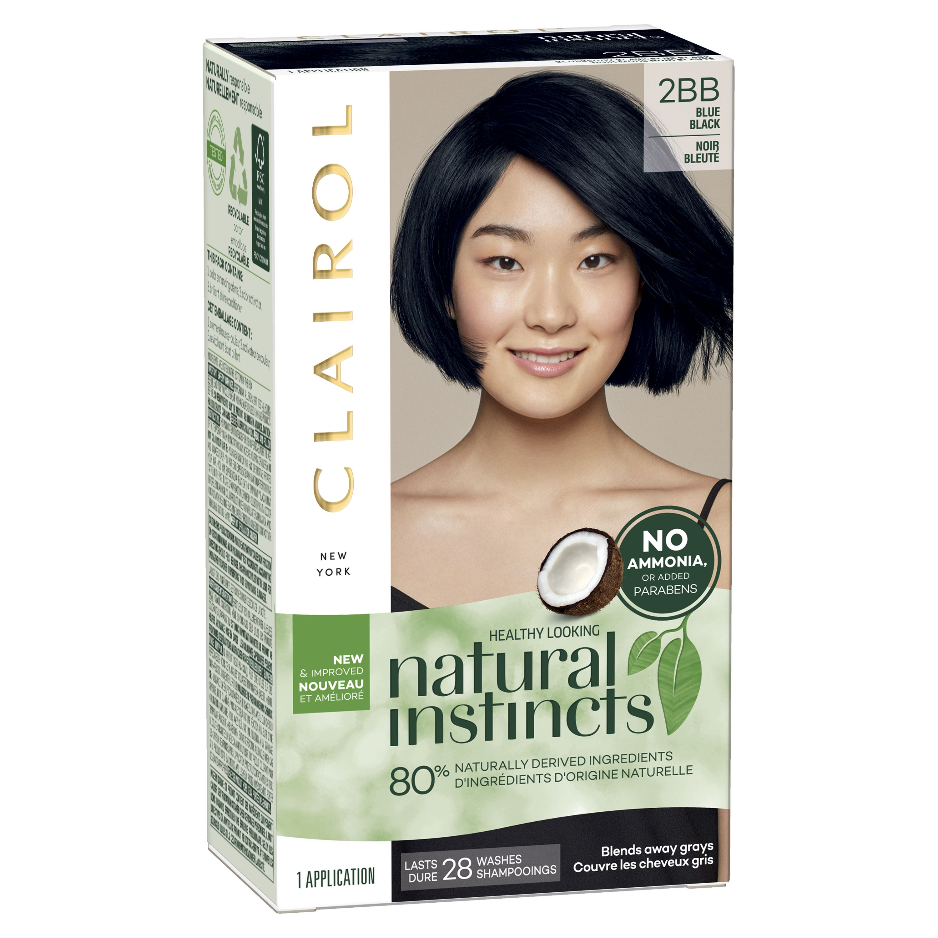 Beauty Clairol Natural Instincts Hair Color Semi Permanent Hair Color