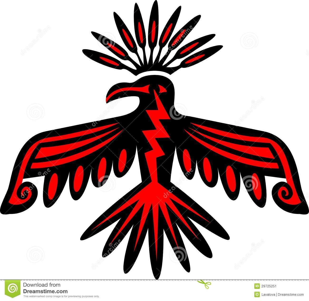 Native American Indian Bird Symbols Clipart Library