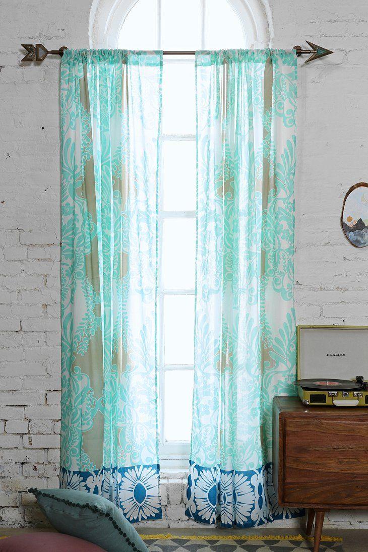 Vine Flourish Curtain Cool Curtains Decor Curtains