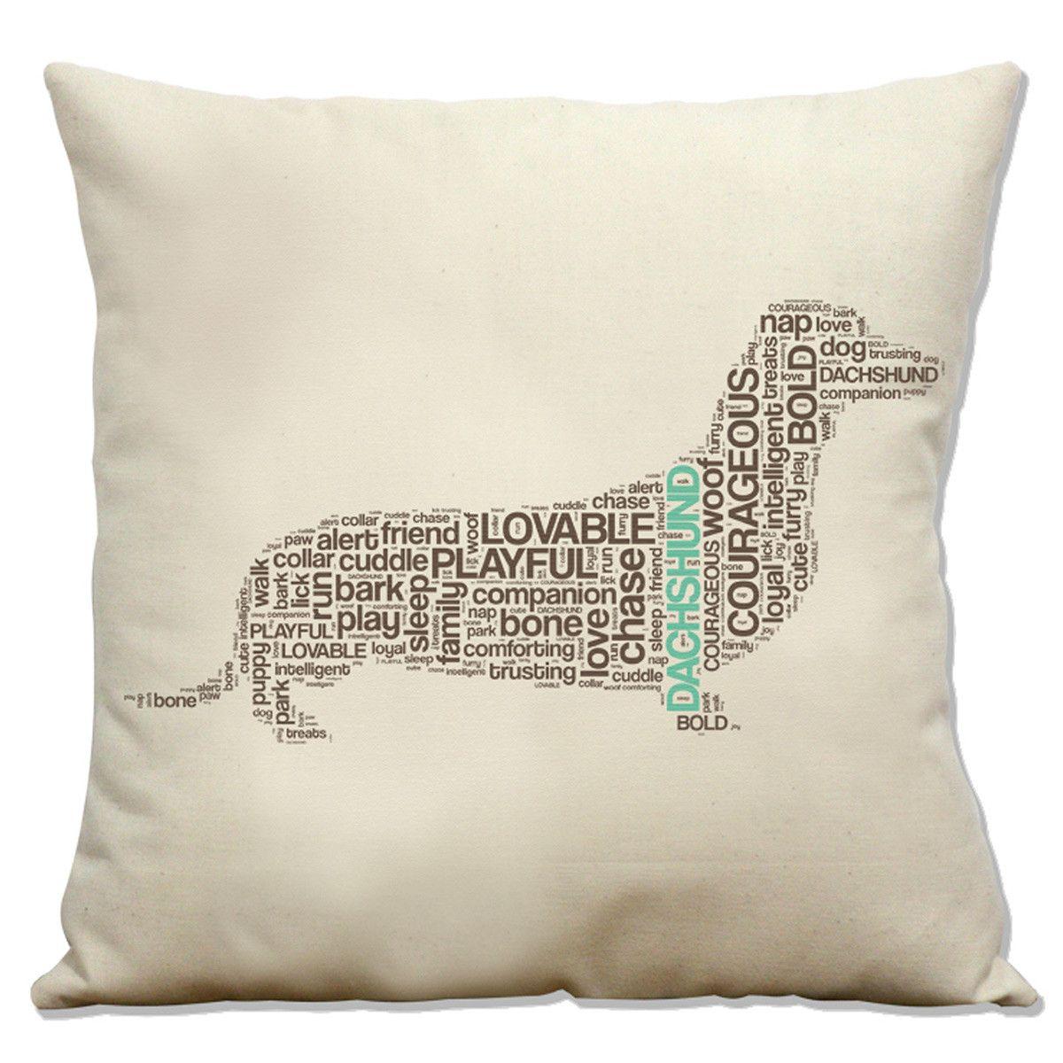 dachshund pillow  interior design  pinterest  thoughts  - dachshund pillow