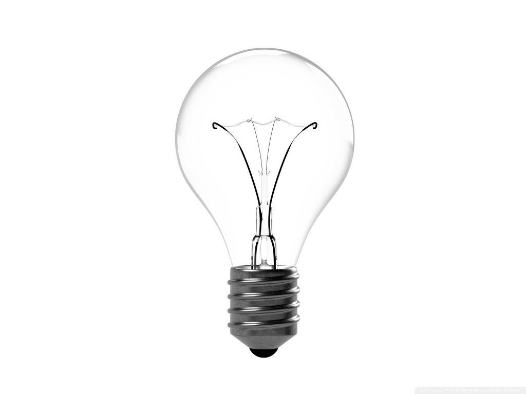 Incandescent Light Bulb Hd Desktop Wallpaper High Definition
