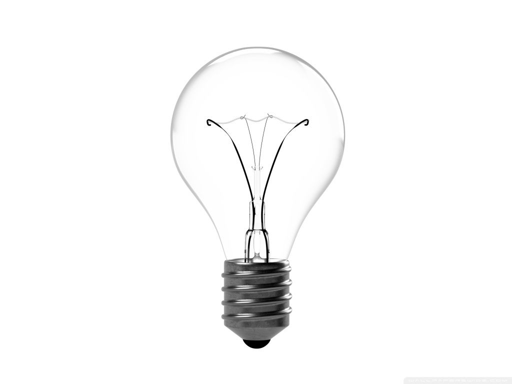 Incandescent Light Bulb Hd Desktop Wallpaper High