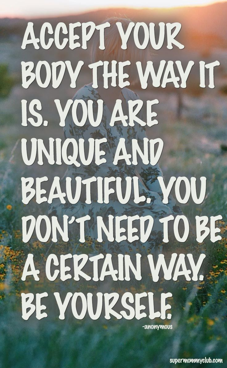 Learn to Love Your Body