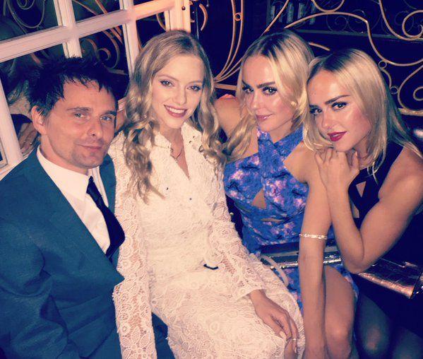 Matt & Elle -Golden Globes