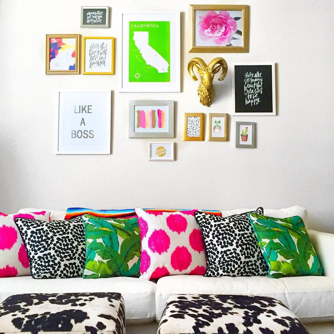 13 kate spade new york inspired decor ideas for your living room living rooms room and. Black Bedroom Furniture Sets. Home Design Ideas