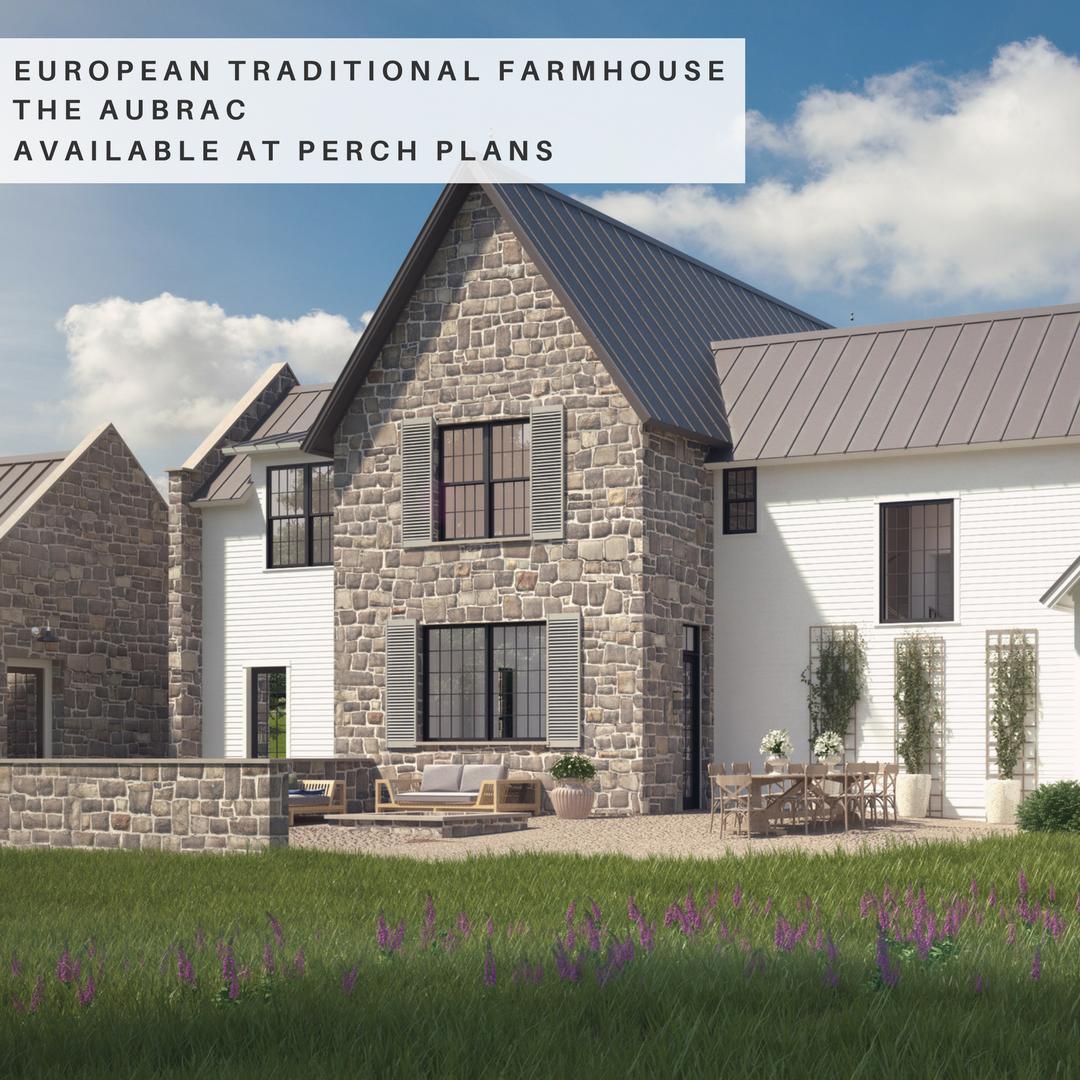 Featured Design The Aubrac Farmhouse Style House Plans Modern Farmhouse Floorplan Modern Farmhouse Design