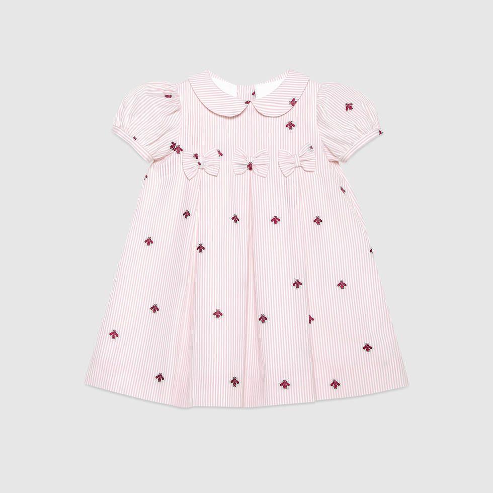 Baby bee fil coupé dress