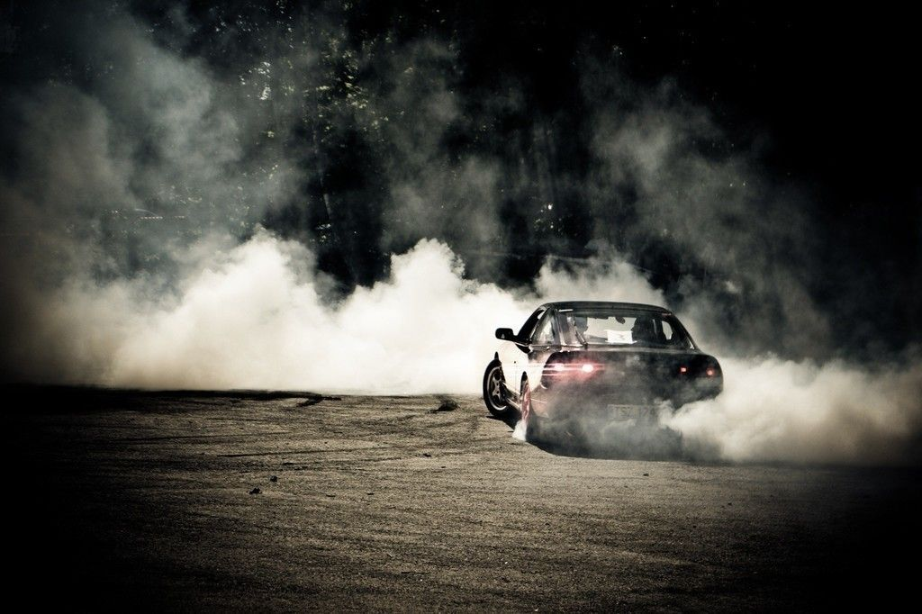 Sports Car Drift Smoke Wallpaper With Images Sports Car