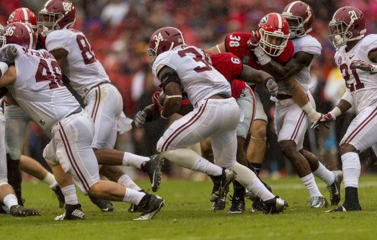 What Kenyan Drake S Injury Means For Alabama Kenyan Drake Running Back Alabama