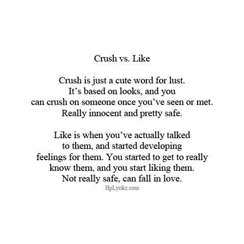 Quotes on having a crush on someone