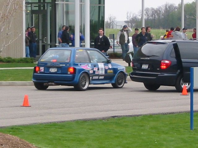 Ford Festiva With 720bhp