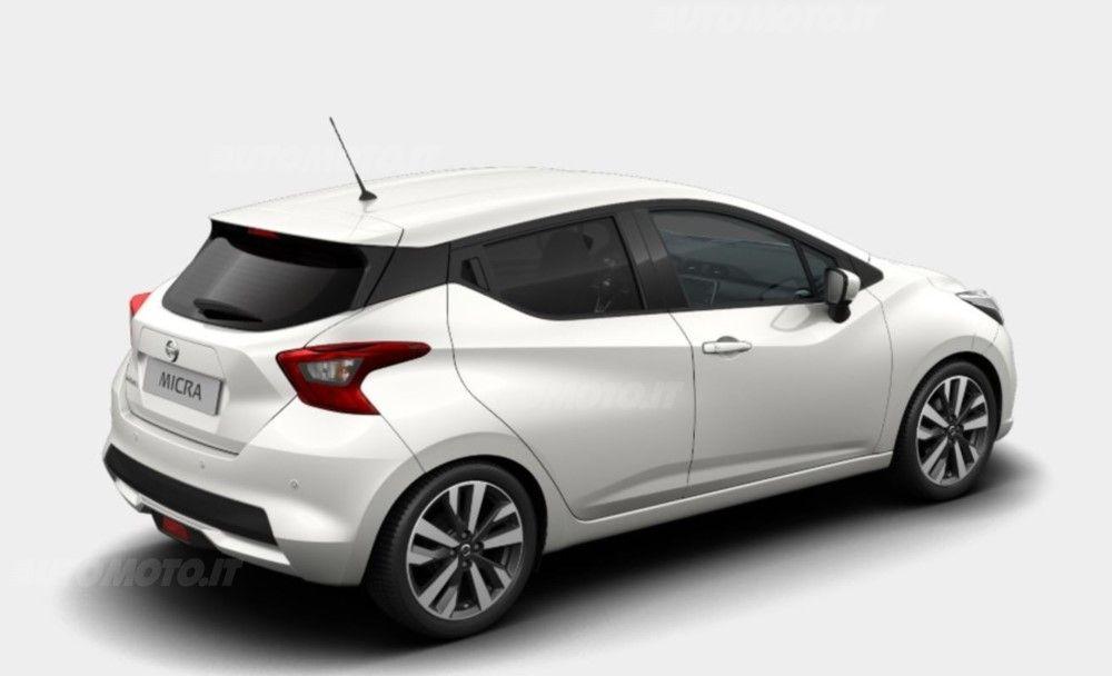 Risultati Immagini Per Nuova Nissan Micra Glaze White Car Nissan First Car