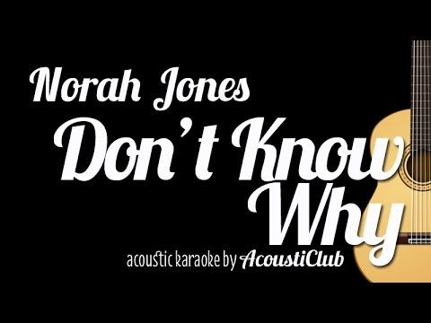 Don\'t Know Why (Norah Jones) - Guitar Chords & Solo / Takashi Terada ...