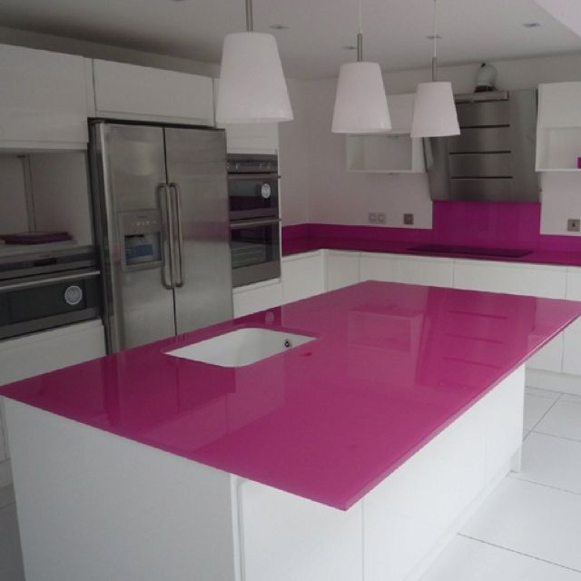 Glass Counter Tops looks great yes, practical not so sure