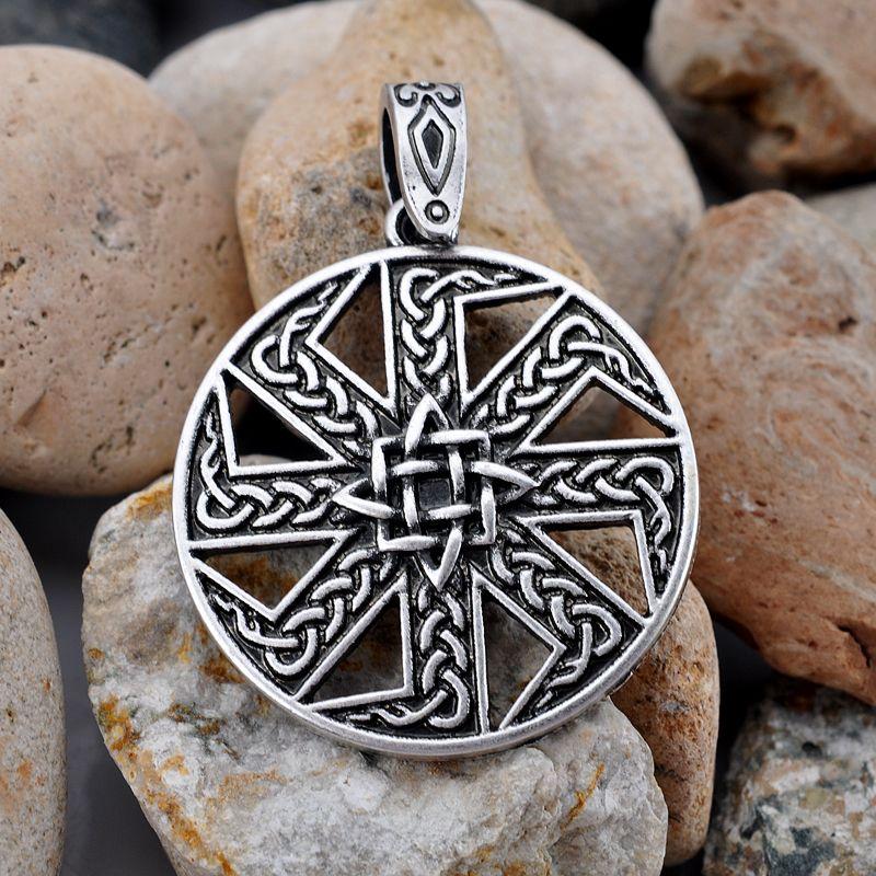 Slave Kolovrat Pendentif Slave Kolovrat Pendentifs Viking Amulette Et Talisman Drop Shipping
