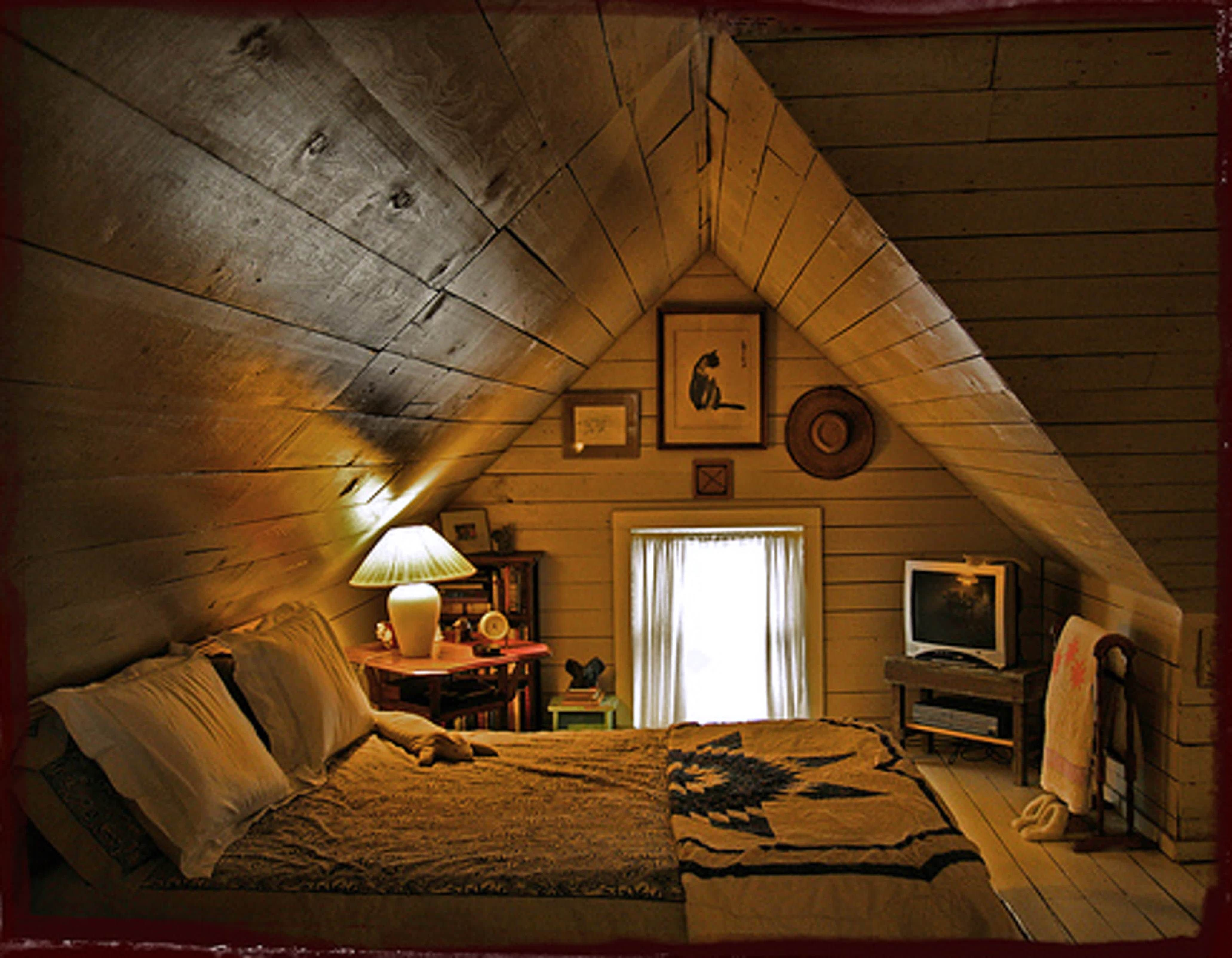 Bungalow House With Attic Design Philippines Attic Bedroom Small