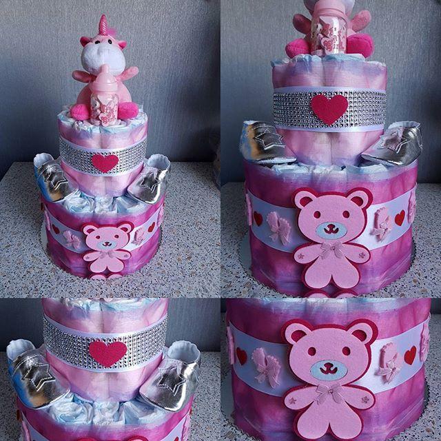 #luiertaart #pink #girl #zilver #schoentjes #lief #klein #babygirl #hart #roze #baby #cadeau #kraamcadeau #kraam #diamant #babyshower #zwanger #zwangerschap #mommytobe #sweet #cute #handmade #businesswoman #work #trots #klein #maar #schattig #vindenjulliehetmooi #makingmyown #ideeën te bestellen op  https://www.facebook.com/spkraamcadeau/ #evedeso #eventdesignsource - posted by spkraam-cadeau https://www.instagram.com/spkraamcadeau. See more Baby Shower Designs at http://Evedeso.com