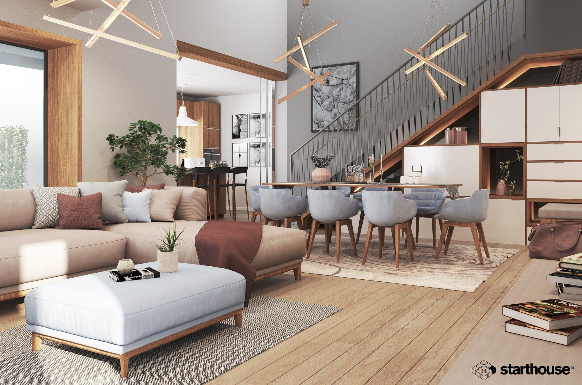Create Realistic 3d Modeling And Rendering For Interior With