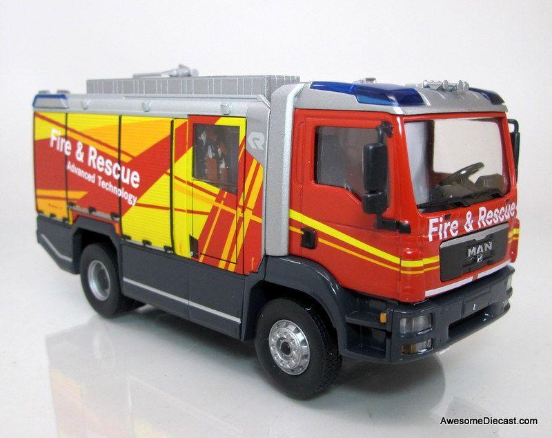 Rosenbauer 1:43 NEW Panther HRET 6x6 ARFF Truck w/ Stinger