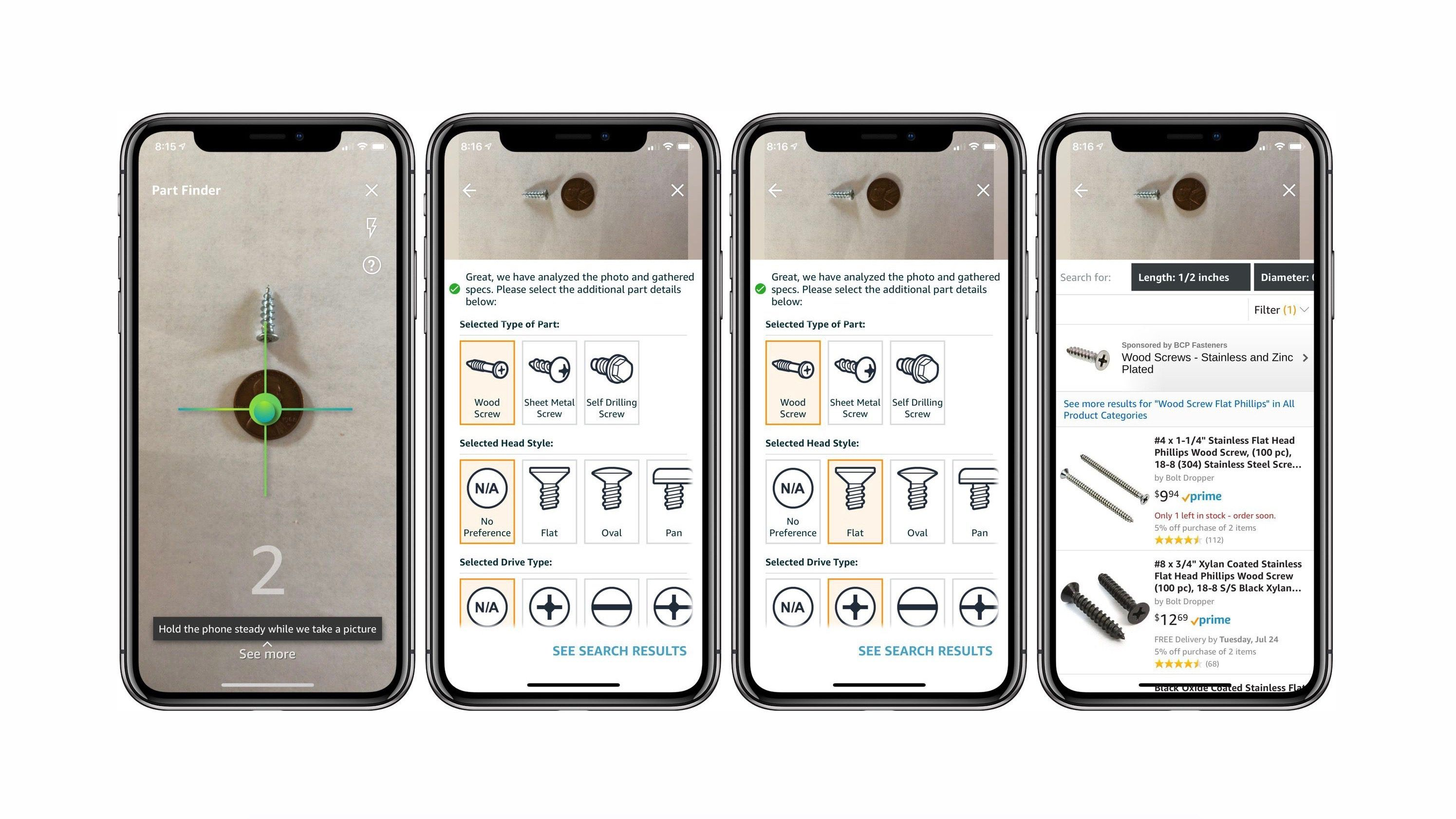 Amazon iPhone app adds AR 'part finder' for identifying