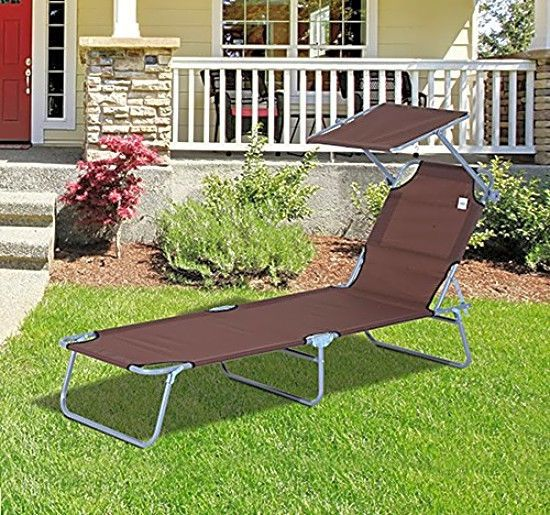 Terrific Patio Sun Lounger Chair With Canopy Outdoor Daybed Swimming Inzonedesignstudio Interior Chair Design Inzonedesignstudiocom