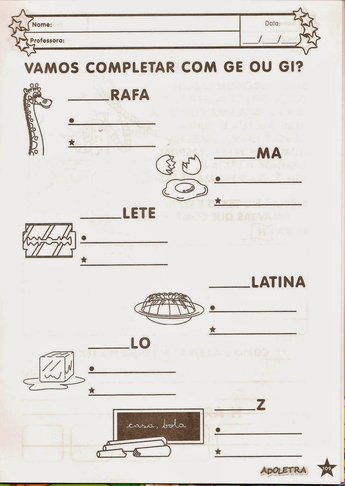 Pin em Alfabetização