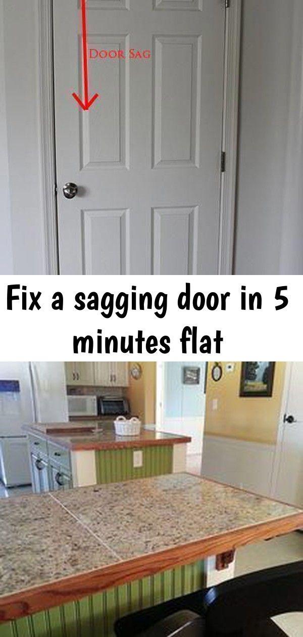 Fix A Sagging Door In 5 Minutes Flat Doors Home
