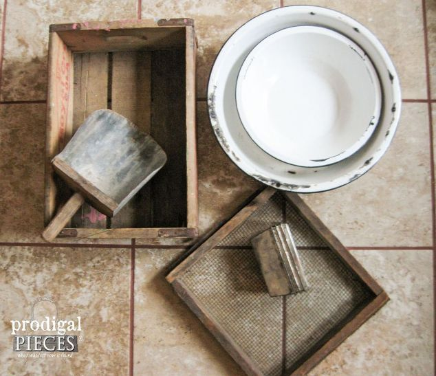 Repurposed Flea Market Finds Into Farmhouse Decor, Crafts