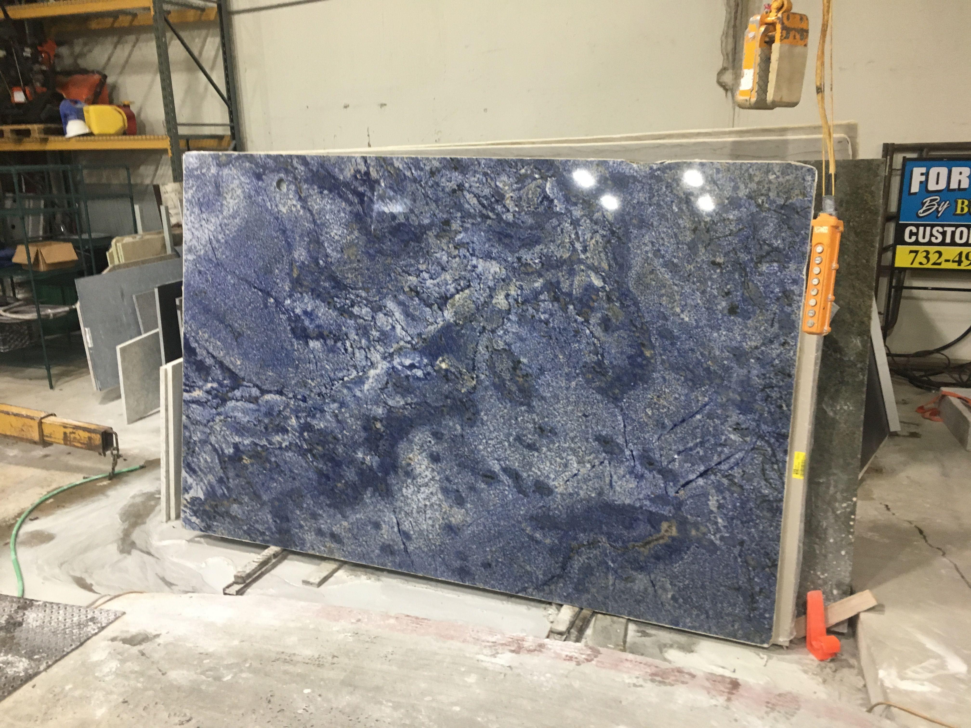 Blue Bahia Granite From Brazil Stone Slab Starry Night Granite