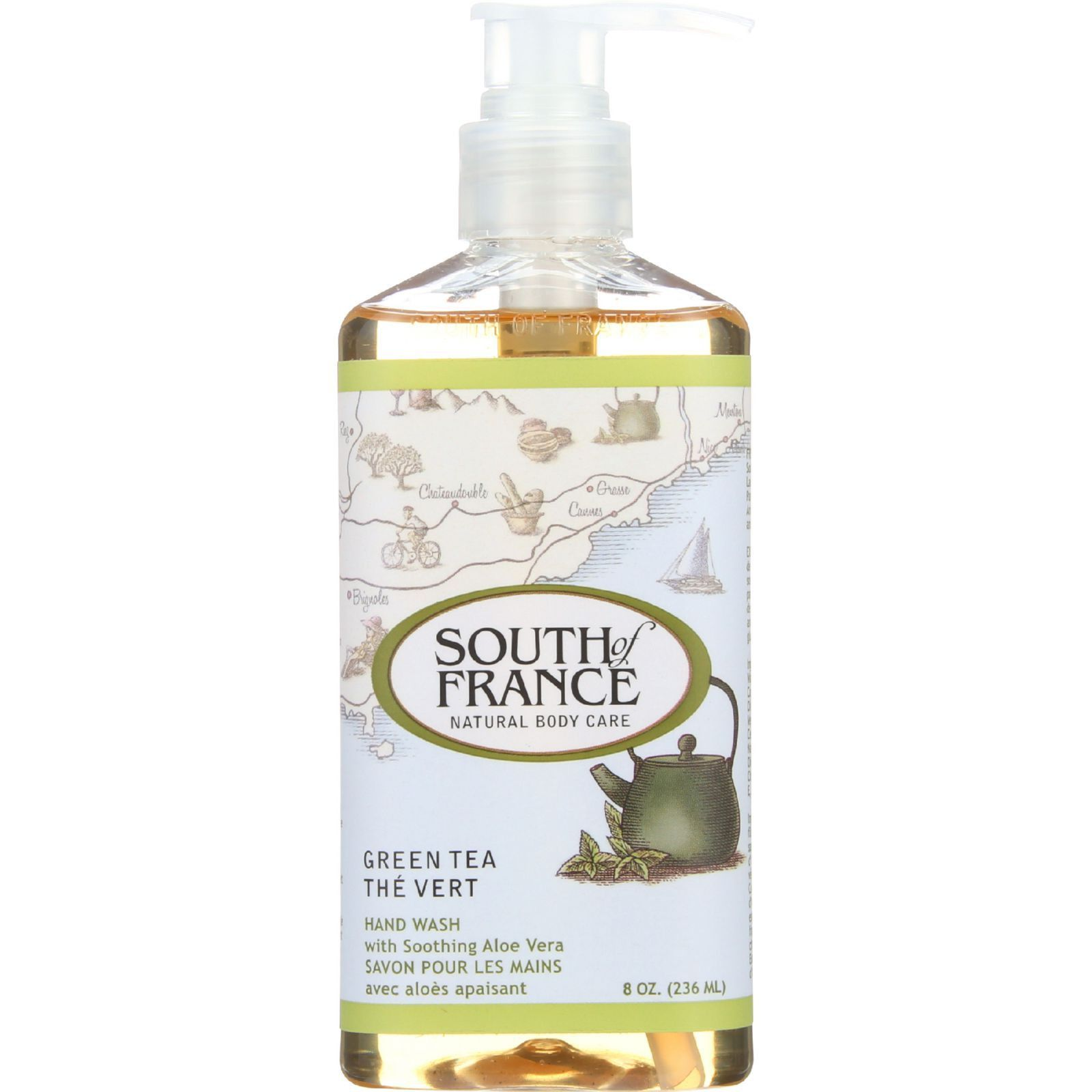 South of France Hand Wash - Green Tea - 8 oz | Alongside, Aloes and ...