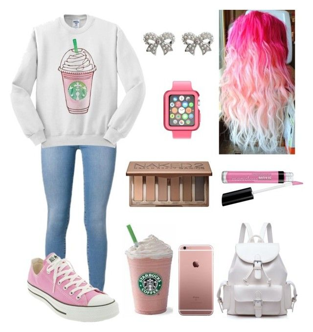 """""""#20"""" by hopen01 ❤ liked on Polyvore featuring Mode, Converse, Speck, M&Co, Urban Decay und Bare Escentuals"""