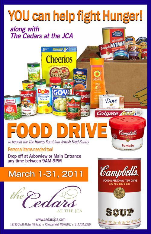 food drive flyer ideas