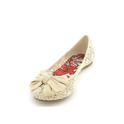 Soda Women Crest flats-shoes