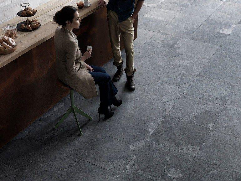 Ardesia bagno ~ Mystone ardesia effetto pietra interni ed esterni pavimenti