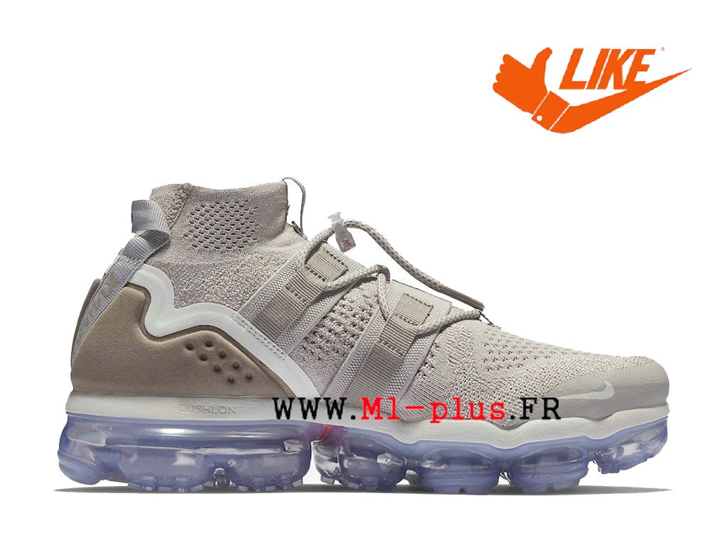 huge selection of 79d4f 3e9a3 Nike-Air-VaporMax-Utility-Moon Chaussure de Running Nike Pas Cher Pour  Homme Particle-Persian Violet AH6834-205