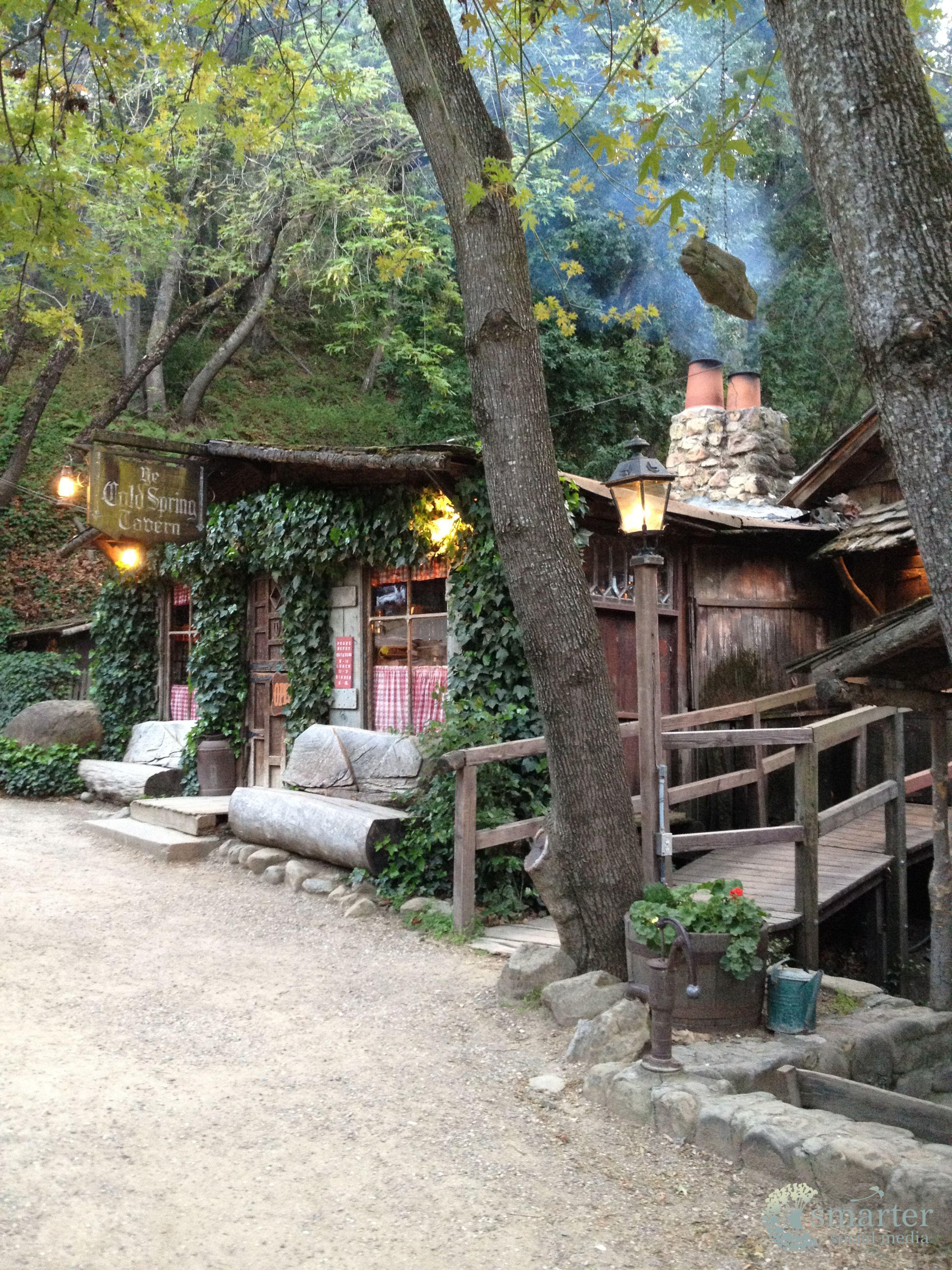 Cold spring tavern in the mountains of santa barbara