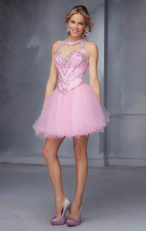 Hermosa Vestido De Cóctel De Color Turquesa Motivo - Colección de ...