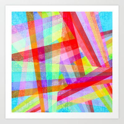 Rainbow Mix Art Print by Ornaart - $20.00