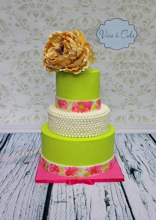 Viva La Cake Cakes Green Pinterest Cake