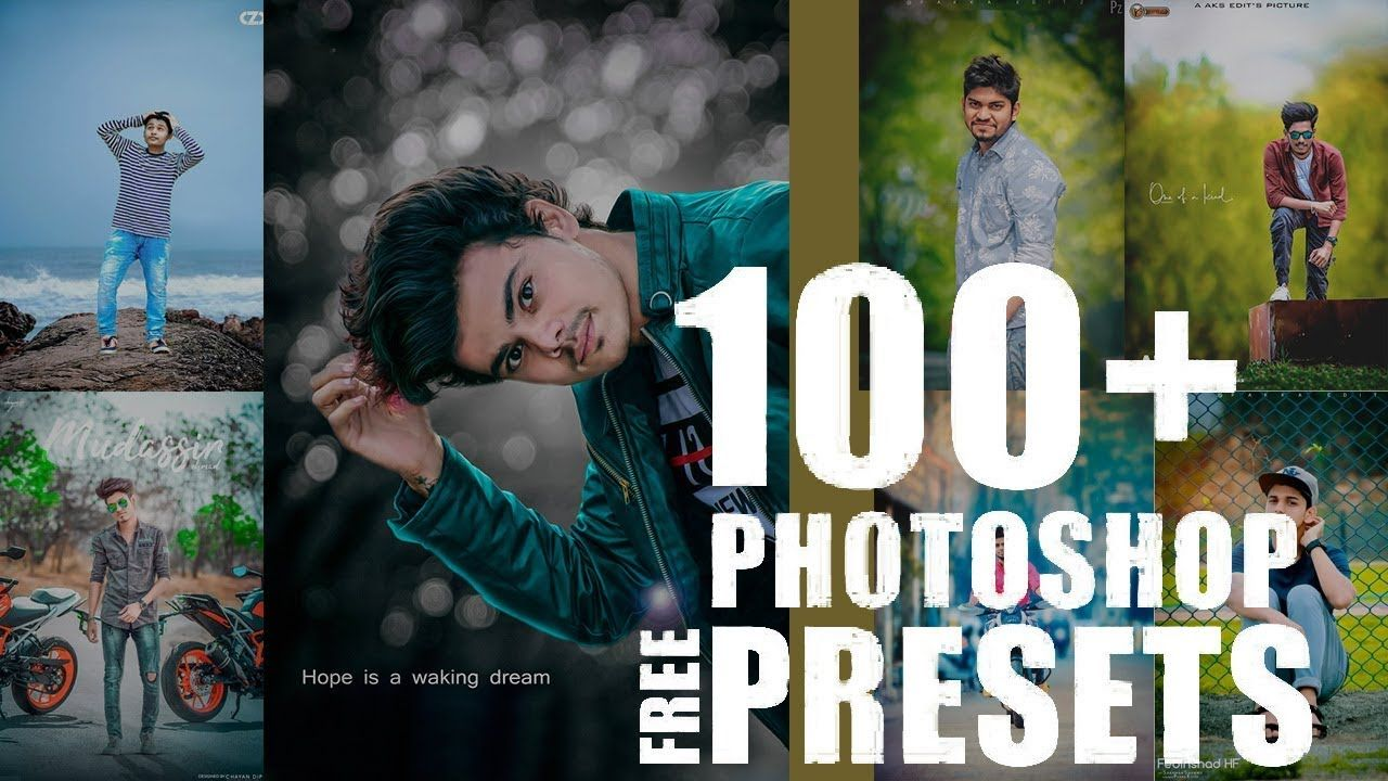 100 + photoshop camera raw presets free download - YouTube