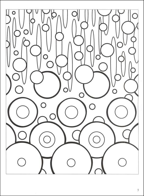 Unique Abstract Coloring Books