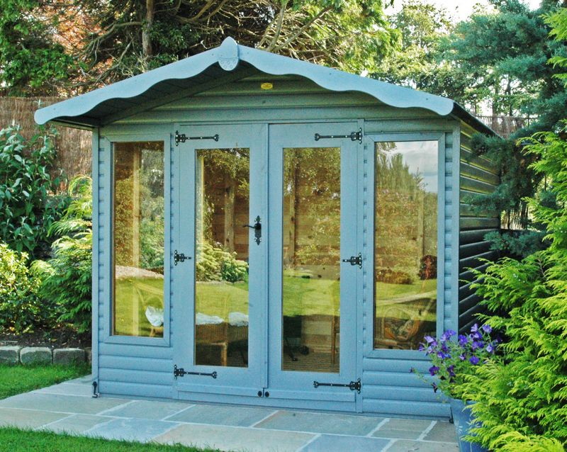 Garden Sheds Yorkshire painted sheds | bespoke timber buildings made in leyburn in north