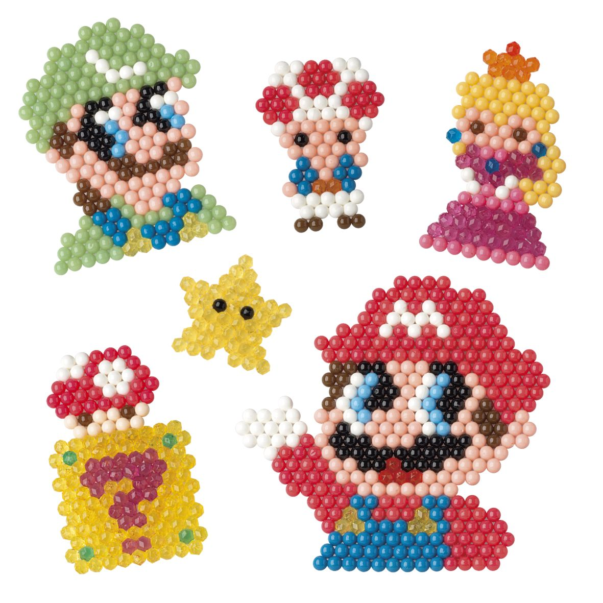 aquabeads super mario playset artsandcrafts parents kids thingstodo aquabeads pinterest. Black Bedroom Furniture Sets. Home Design Ideas