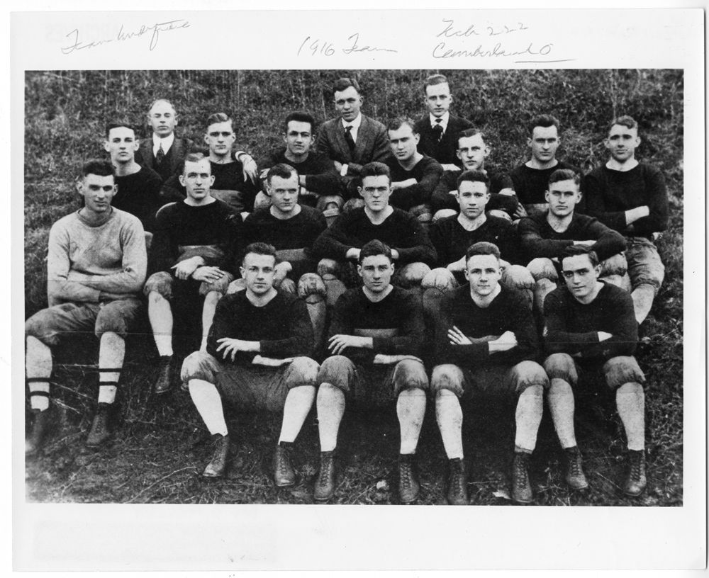 Coach John Heisman & the 1916 Football Team Tech